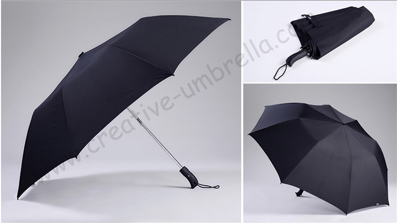 120cm 3 άτομα δύο φορές αυτόματη ανοιχτή εξάγωνο 50T χάλυβα αδιάβροχο αντι-κεραυνό fiberglass μίνι γκολφ ομπρέλες αθλητικές ομπρέλες