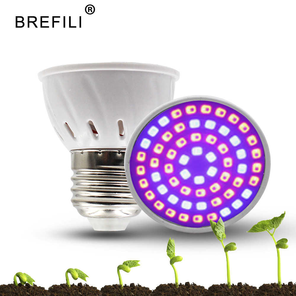 LED Grow Light Bulb 5W 7W 9W Full Spectrum 220V E27 E14 led Grow Lamp for Indoor Hydroponic System Flower Bloom Plant lamp bulbs
