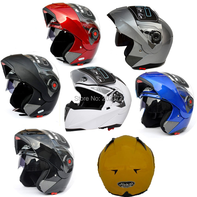 ФОТО Motorcycle JIEKAI 105 helmet undrape face Full open face Motorcycle safety helmetS