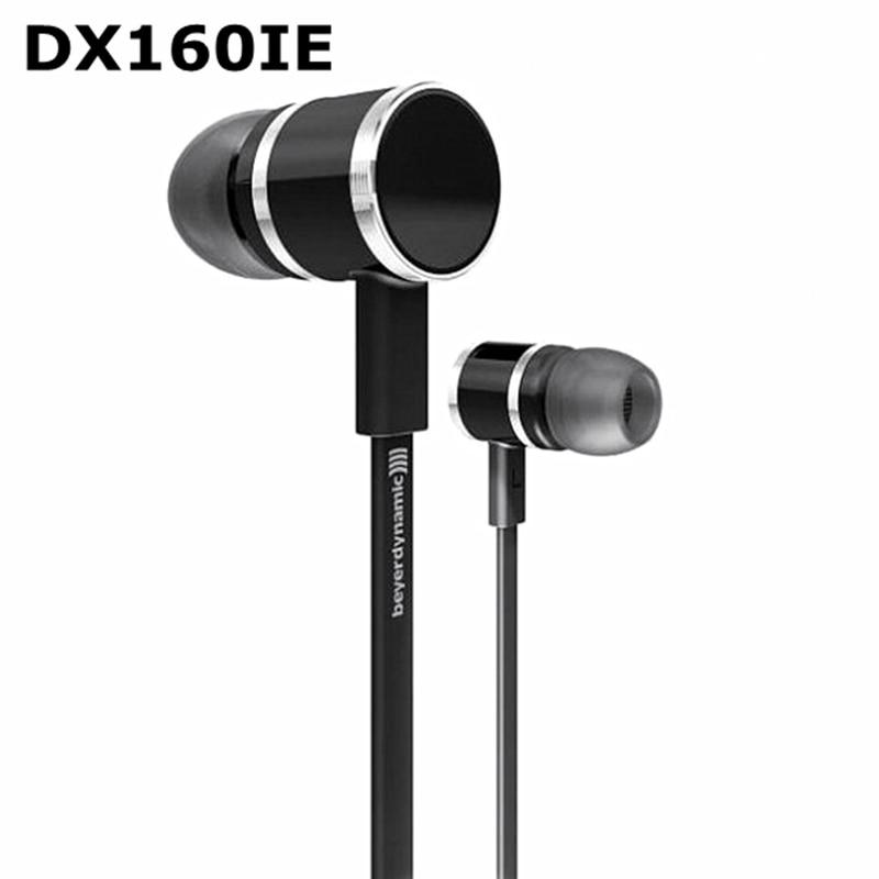 Genuine Beyerdynamic DX160IE DX160 IE In Ear Earphones HiFi Earphones Perfect Bass Sound Short Cable+Extend Cable Design
