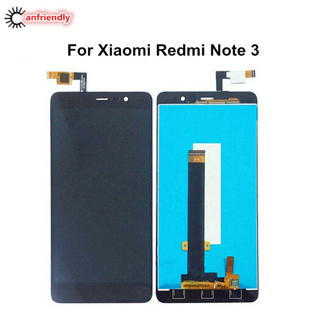 """For Xiaomi Redmi Note 3 5.5"""" LCD Display + Touch Screen Replacement Digitizer Assembly For Xiaomi Redmi Note 3 Note3 replace lcd"""