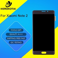 FOR Xiaomi Note 2 100 Tested Good Quality LCD Display Touch Screen Digitizer Full Assembly MI