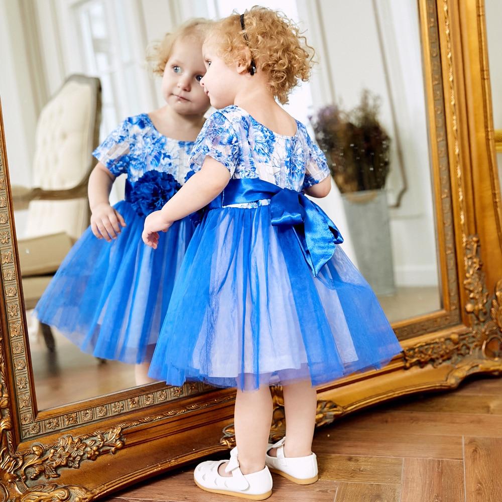 Sukienki dziecięce 2018 Nowa wiosna Jesień Dziewczynek ubrania - Odzież dla niemowląt - Zdjęcie 2