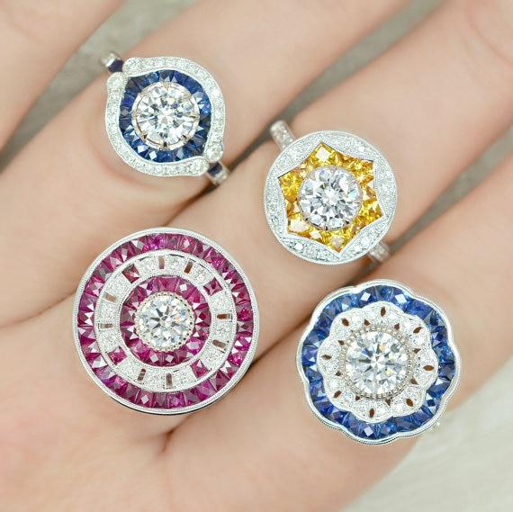 AINUOSHI 10K 14K 18K Solid Gold Jewelry Ring Earrings Bracelets Pendants Jewelry Set Customized