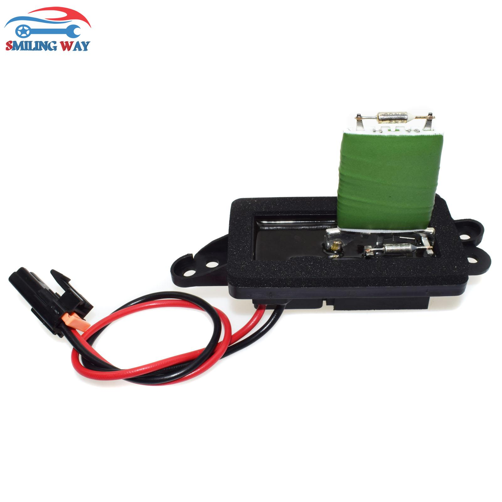 how to replace heater blower resistor