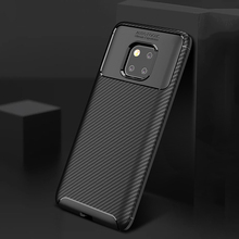 Ikrsses Case For Huawei Mate 20 Lite Luxury Carbon Fiber Ultra Thin Silicone Soft TPU Case for Huawei Mate 20 Pro Case Cover cover case for huawei mate 10 pro soft carbon fiber luxury tpu