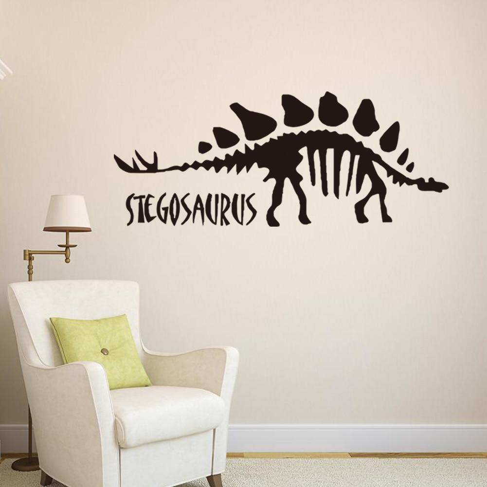 US $5 1 OFF Tk Anak Dekorasi Kamar Wall Stiker 3d Dinosaur Wall Stiker Living Room Dinding Gambar Dinosaur Wall Stickers Wall Sticker Decorative