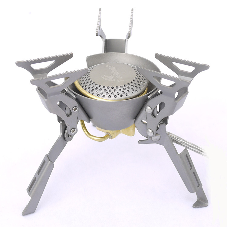 Fre maple Titanium stove camping stove Cooking stove 200g FMS-100T fire maple fms 300t mini titanium gas stove 2600w