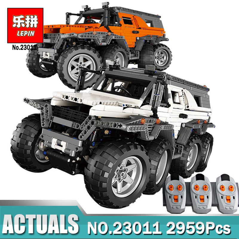 New LEPIN 23011 Off-road Vehicle Model Educational Building Kits Block Bricks Compatible Legoing 5360 Technic Serie Toys Gifts
