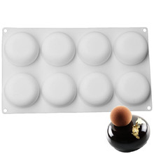Silicone Molds Stone Globe Baking Chocolate Mold For Cakes Pudding Dessert Tools Bakeware Mould Supplies Cake Pans