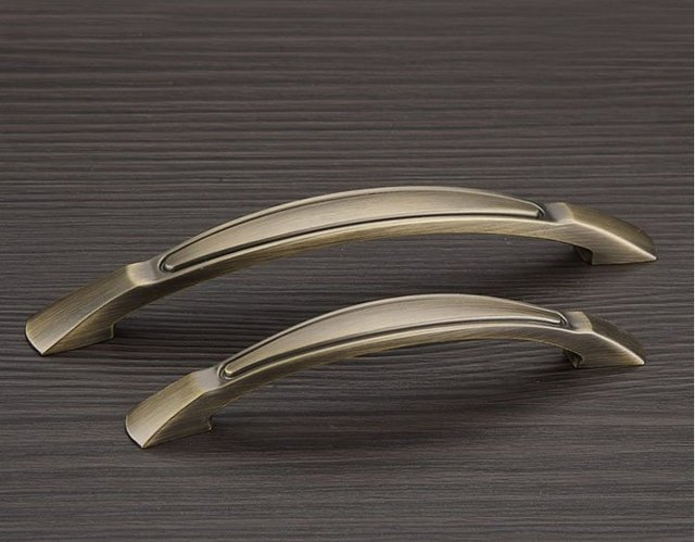 Keuken Handgrepen 128mm : Klassieke antieke brons meubilair keuken montage deurknoppen en