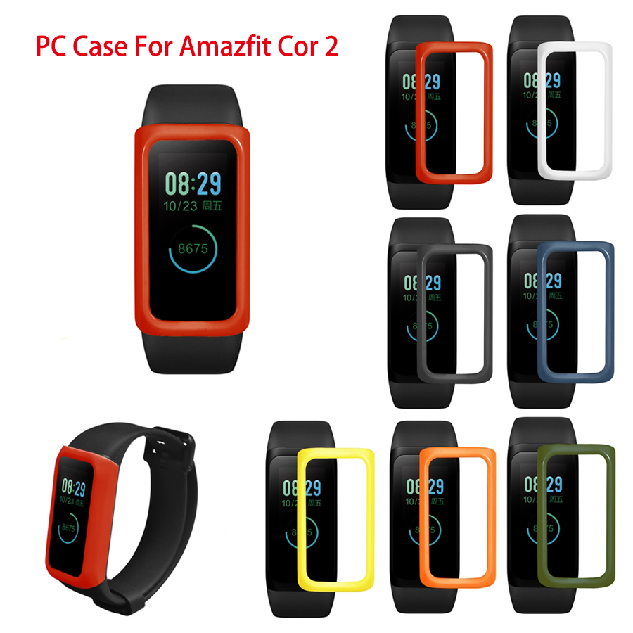 Slim Colorful PC Protect Case Cover for <font><b>Xiaomi</b></font> Huami <font><b>Amazfit</b></font> <font><b>Cor</b></font> <font><b>2</b></font> Midong Protective Shell for <font><b>Xiaomi</b></font> Smart Watch Case image