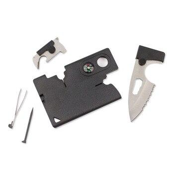 סכין הישרדות עם ערכת כלים מיוחדים