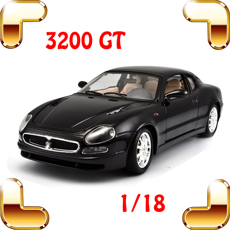 New Year Gift 3200GT 1/18 Metal Model Car Alloy Collection Metallic Vehicle Model Scale Office Decoration Men Present Toys Cars new year gift gallargo 1 18 large model metal car metallic scale simulation diecast alloy collection toys vehicle present