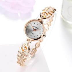 Бренд lvpai дизайн для женщин часы модные женские Нержавеющая сталь горный хрусталь браслет часы Vogue Кварцевые наручные часы # Zer
