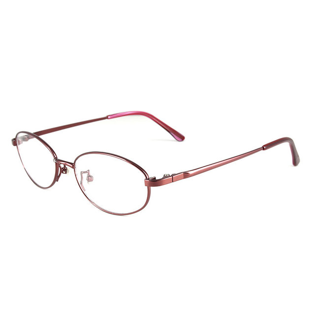 Reven Оптических Стекол WB3088 Мода Полный Обод Овальной Сплава Передняя Очки Оптические для Женщин Очки По Рецепту