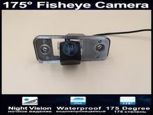 175 Degree 1080P Fisheye Reverse Camera Parking Car Rear view For Hyundai Azera SantaFe Santa Fe IX45 2009 2010 2011 2012