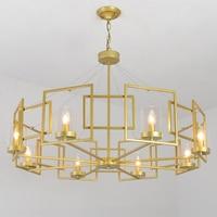 Modern Nordic Pendant Lights dining room wrought iron Pendant lamps led lustre light E14 Pendant Lights