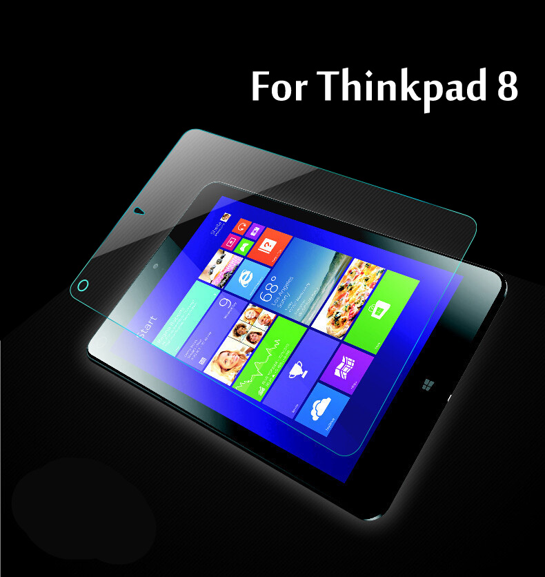 9H HD Tempered Glass Membrane For Lenovo Thinkpad 8 Case Tablets Screen Protector Film
