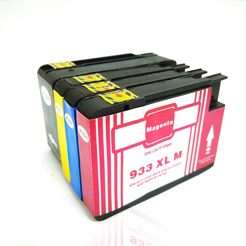 4pcs 932 XL for hp 932XL Compatible  ink cartridge For HP OfficeJet Pro 6100 6600 6700 7110 7610