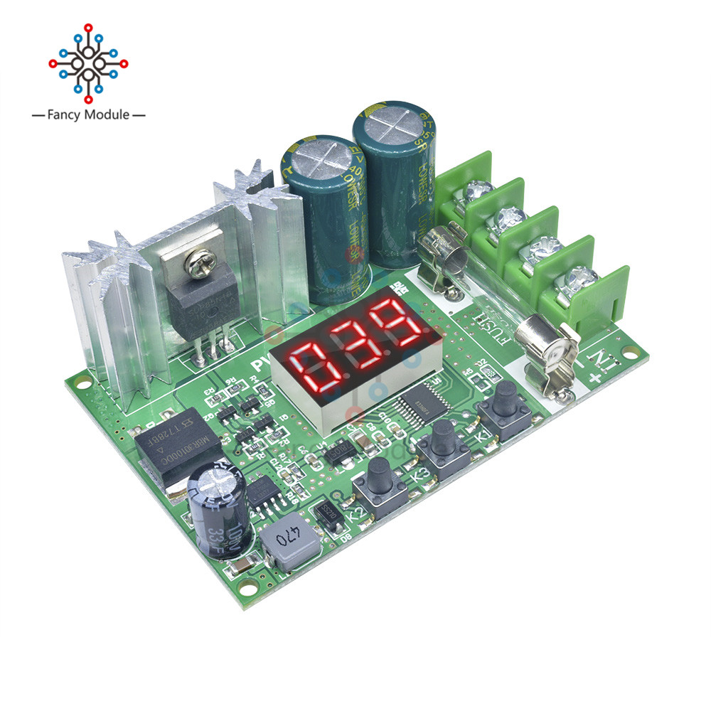 10A 12V-60V 600W DC Motor Speed Controller PWM Regulation Pulse width Board LED tube digital Switch Motor Control 14KHz 24V 48V image
