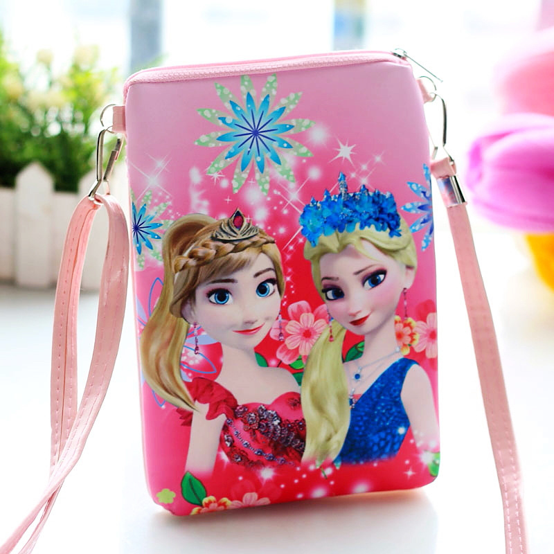 New Elsa Anna Baby Girls Mini Messenger Bag Cute PU Leather Cartoon Boys Small Handbag Children Kids Shoulder Mini BagsNew Elsa Anna Baby Girls Mini Messenger Bag Cute PU Leather Cartoon Boys Small Handbag Children Kids Shoulder Mini Bags