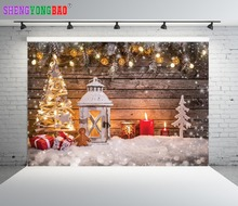 SHENGYONGBAO Vinyl Custom  Christmas theme Photography Backdrops Prop Photo Studio Background YHSHD-8013