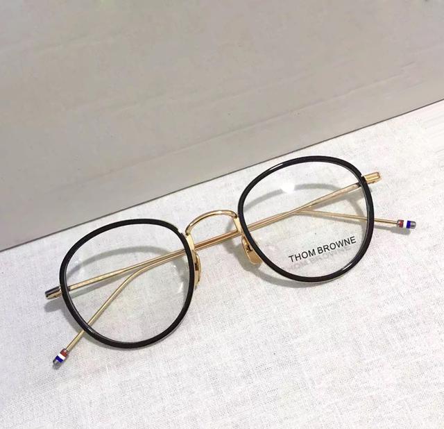 De alta qualidade óculos frames TB905 prescrição armações de óculos Redondos óculos de Leitura das mulheres dos homens Do Vintage com caixa