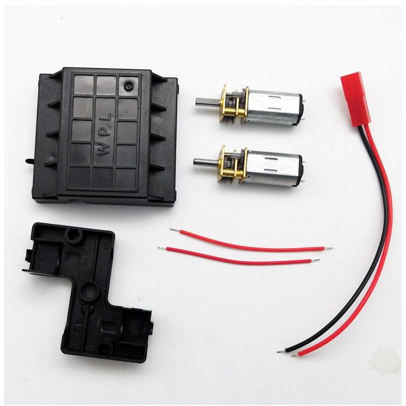 WPL N30 Doppel Motor Getriebe Für Klettern Off-Road DIY RC Auto Geeignet Für C14 C24 RC Auto fernbedienung Spielzeug Teile Accs