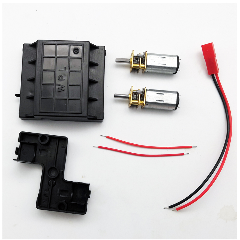 все цены на WPL N30 Double Motor Gear Box For Climbing Off-Road DIY RC Car Suitable For C14 C24 RC Car Remote Control Toys Parts Accs онлайн