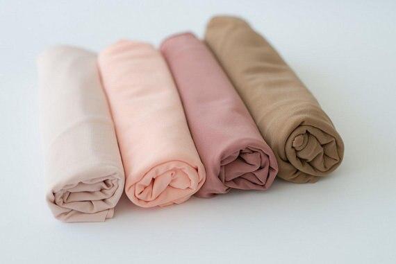 Newborn Stretchy Wrap Baby Scarf Newborn Photo Props Wraps Blanket Photography Props newborn swaddle Newborn wrap