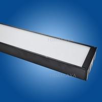 Toika 10PCS/lot 1200mm 4ft 20w LED tube lamp Hanging bar assembled panel light office 85 265v CE&RoHs