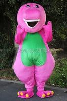 cosplay costumes Barney Cartoon Mascot costumes on Adult Size Barney Mascot costume