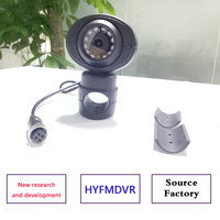 Hikvision bus truck camera 360 degree no dead angle car rearview mirror bracket side mounted 1080P HD reversing car surveillance