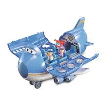 Высокое качество Супер Крылья самолет сцена центр с самолетами фигурки Трансформации Игрушки для детей подарок аниверсарио