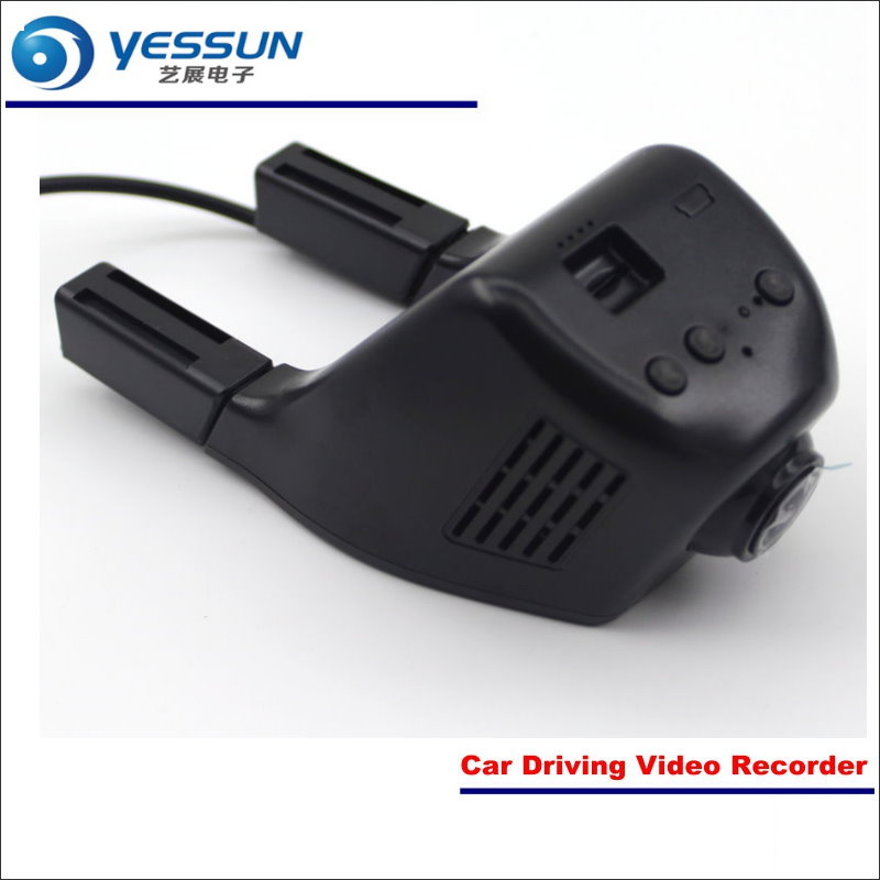 YESSUN Car DVR Driving Video Recorder For Honda City Front Camera Black Box Dash Cam Head Up Play 1080P WIFI Phone APP yessun car front camera for audi a6 high edition dvr driving video recorder black box dash cam head up plug oem 1080p wifi