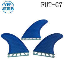 Surf Fins Future G7 Fin Honeycomb Surfboard Fin 2 color surfing fin Quilhas thruster surf accessories
