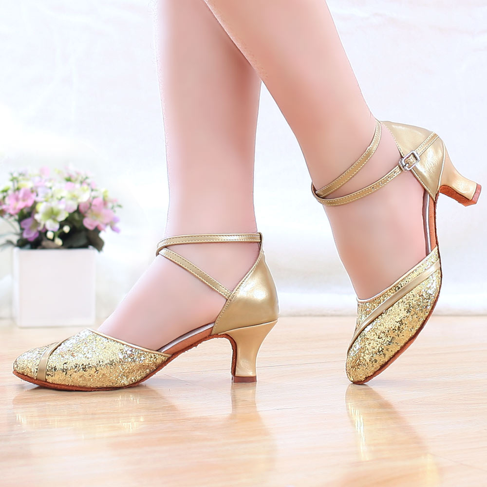 Ladies Salsa Latin Dance Shoes High Quality Latin Dancing Shoes For Women Adult Ballroom Tango Latin Dance Shoes Female Sandals