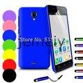 Em estoque new arrival pc plastic case capa do telefone para explay vega proteja capa com caneta stylus frete grátis