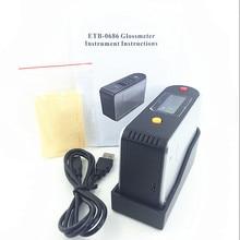 ETB-0686 измеритель блеска etb0686 измеритель яркости мраморный измеритель блеска тестер блеска