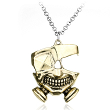 Anime Tokyo Ghoul Mask Necklace Gourmet Key chain Pendant Adult Applicable Gift horror daredevil slipknot mask cosplay