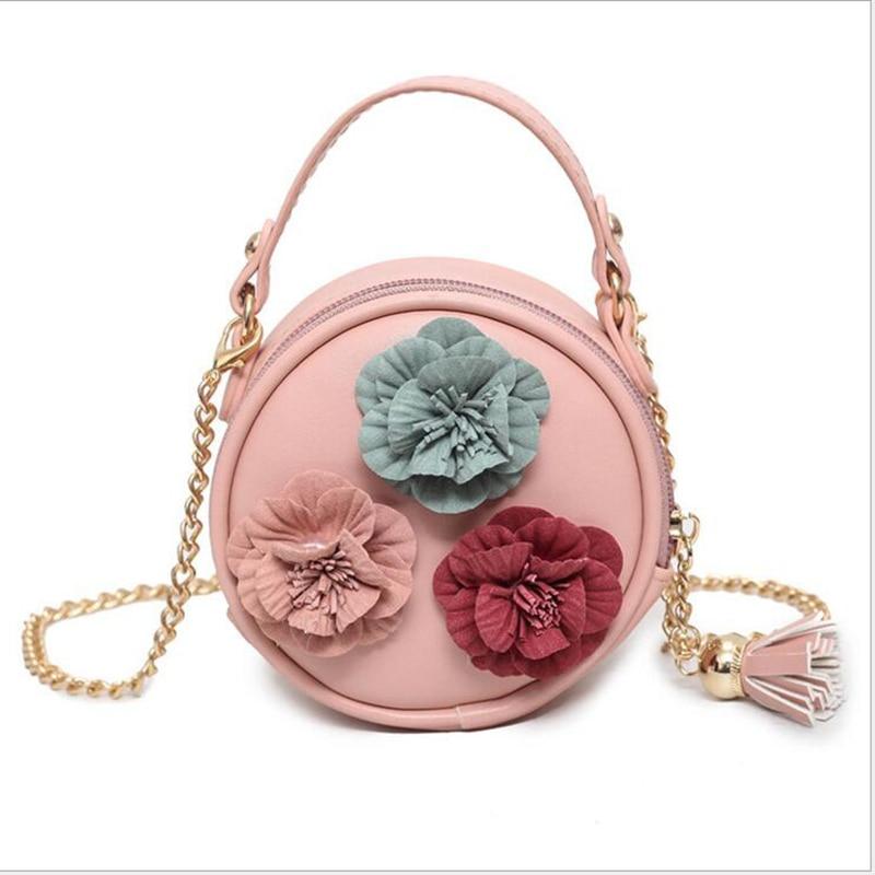 Baby Coin Purse Change Wallet Girls Cotton Flower Bag Coin Pouch Children Wallet Money Holder Kids Gifts Bags Shoulder Purse Bag