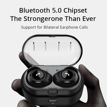 Bluetooth Earphones Wireless Bass 3D Stereo With Dual Mic