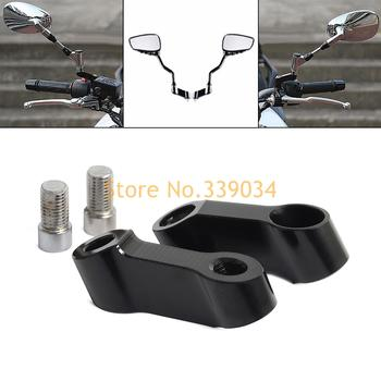 Универсальное Алюминиевое Крепление M10 M8 CNC 8 мм 10 мм для мотоцикла, велосипеда, зеркала, переходное крепление для скутера KTM, Yamaha, Kawasaki