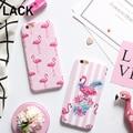 "Fashion Cartoon Flower Stripe Dot Colorful Flamingo Case Cover For iPhone 6 6S Plus 4.7/5.5"" Soft IMD Phone Cases & bags Fundas"