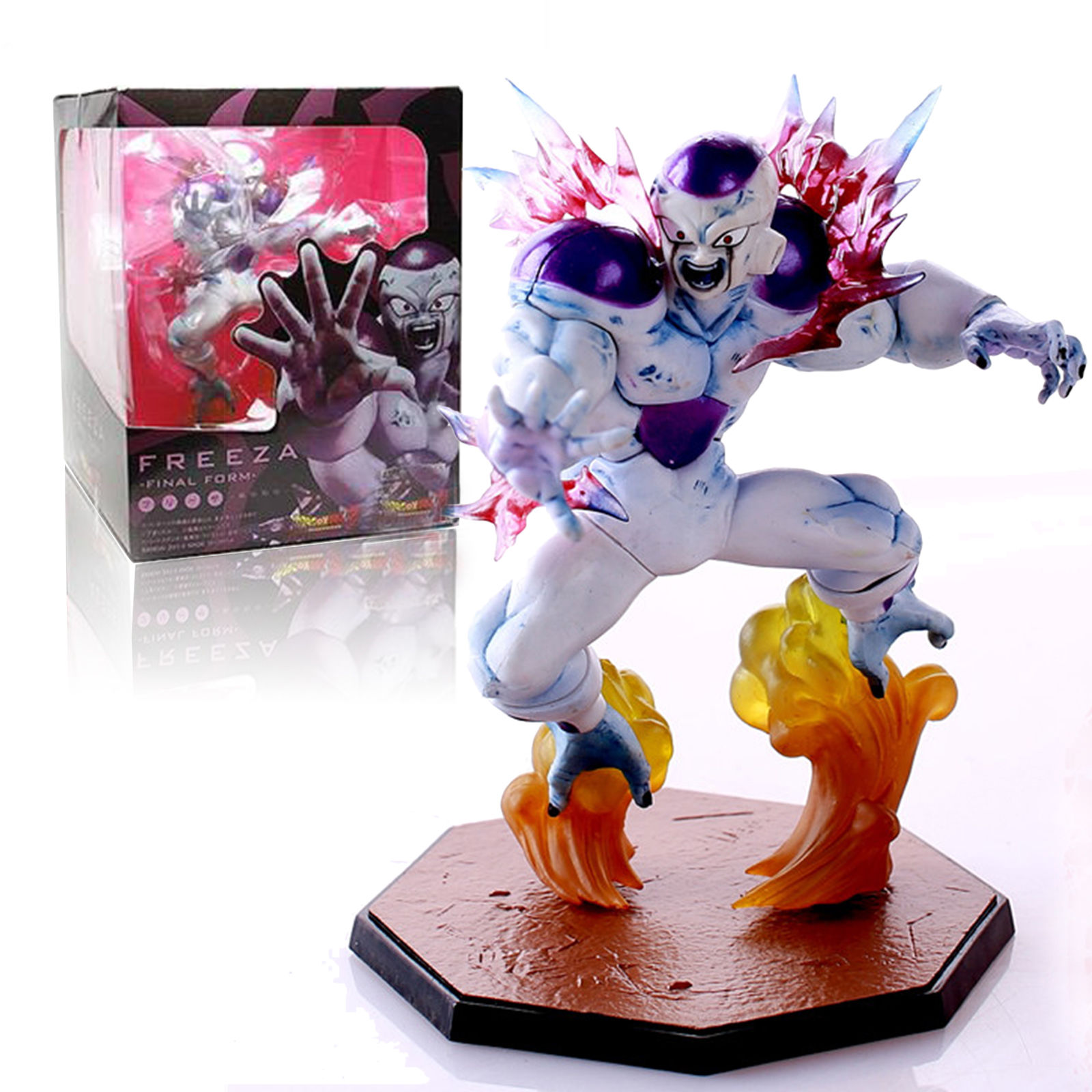 Free Shipping 6inch Anime Dragon Ball Combat Edition Z Freeza Freezer PVC Action Figure Collectible Toy