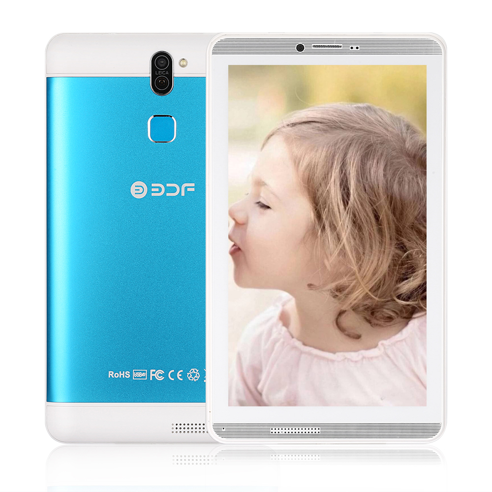 7 Inch Screen Android 6.0 Phablet 3G Network SIM Quad Core 1GB+16GB Tablets