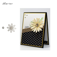 JC 2019 New Metal Cutting Dies Craft Cut Die Stencil Chrysanthemum Flowers Scrapbook DIY Handmade Album Paper Cards Decor Dies jc metal cutting dies and stamps stencil flowers butterfly craft cut die scrapbook diy handmade album paper cards decor dies