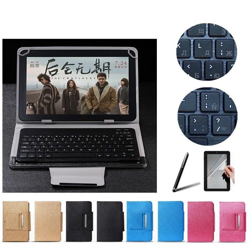2 Gifts 10.1 inch UNIVERSAL Wireless Bluetooth Keyboard Case for Huawei MediaPad 10 Link Keyboard Language Layout Customize