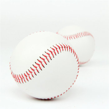 "9"" Handmade Baseballs Hard ball PVC Upper Rubber Inner Soft Baseball Balls Training Exercise Baseball Ball"